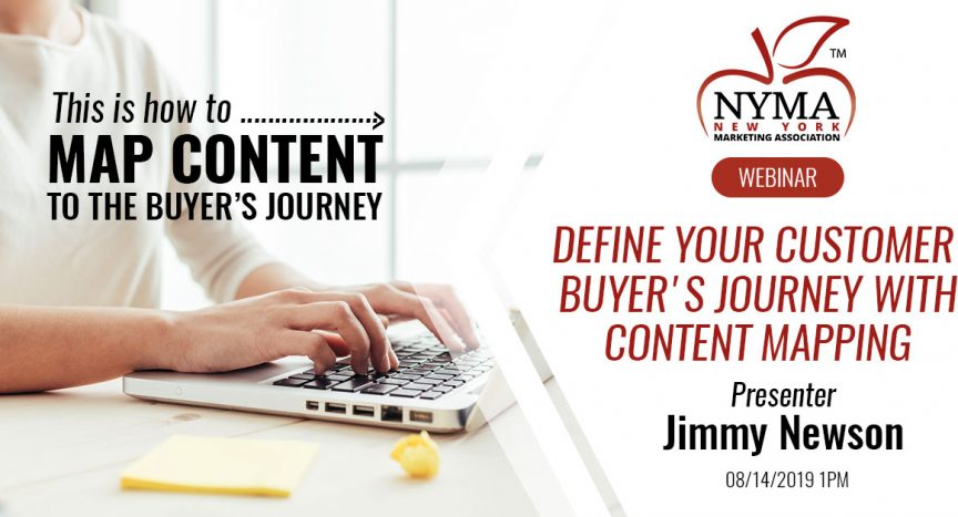 Define Your Customer Buyer's Journey with Content Mapping - New York on